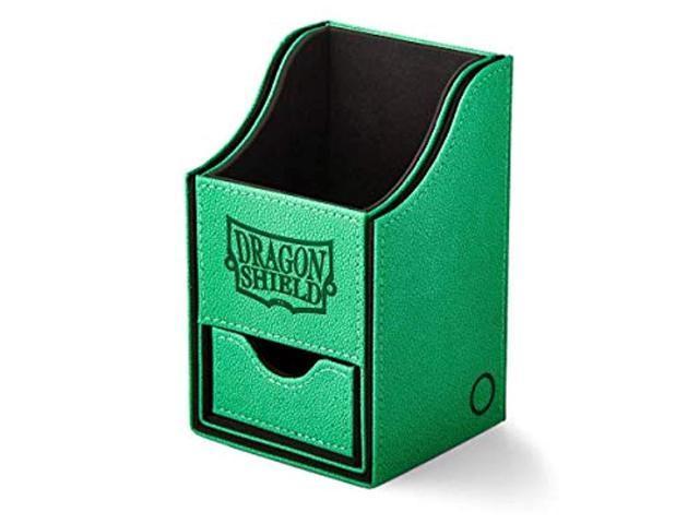 Green Arcane Tinman Dragon Shield Shell Deck Box Collectible Card One Size