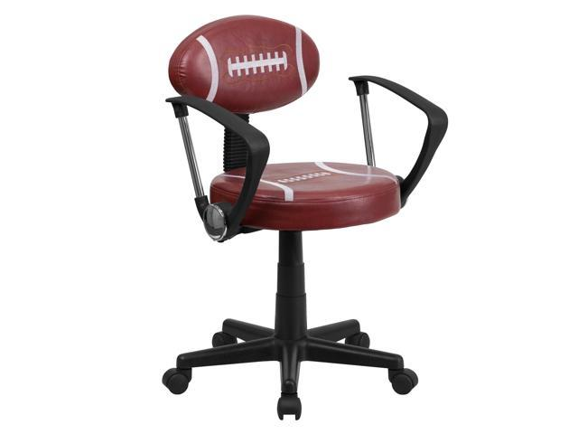 Football Swivel Task Chair With Arms Newegg Com