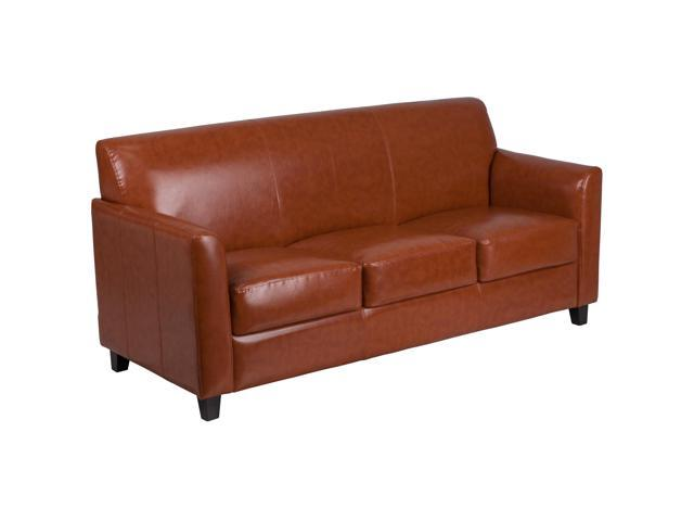 Cognac Leather Sleeper Sofa Review Home Decor