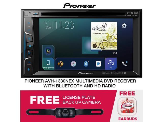 "PIONEER 6.2/"" DIGITAL MEDIA BLUETOOTH CAR STEREO FREE CHROME FULL LICENSE CAMERA"