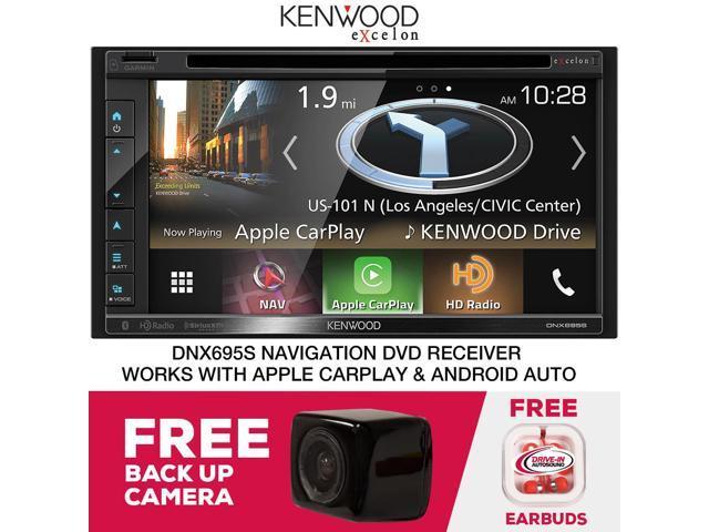 Kenwood DNX695S Navigation Receiver & Free Backup Camera - Newegg com