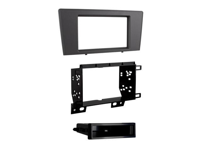 Metra 99-7347B Black Single//Double DIN Stereo Dash Kit for 12-up Hyundai Accent