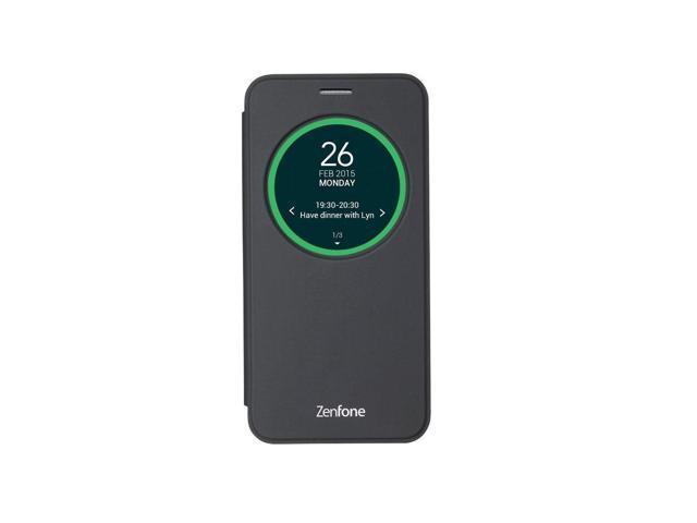 reputable site 7b3dc d6a5b Asus official ZenFone 2 Black View Flip Cover ZE500KG / ZE500KL - Newegg.com