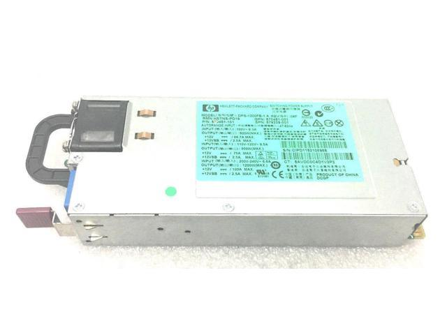 HSTNS-PD19 HP 1200W COMMON SLOT HIGH EFFICIENCY POWER SUPPLY