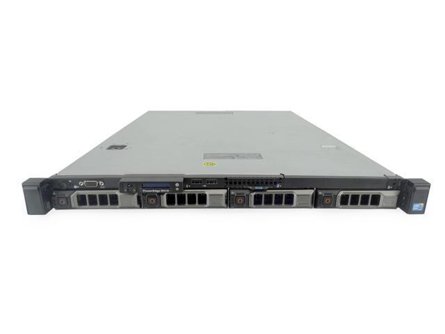 Dell PowerEdge R410 1U Server, 2x Intel Xeon L5640 2 26GHz 6 Core, 8GB  DDR3, PERC 6/i RAID, 8TB SAS, Power Supply, Rails - Newegg com
