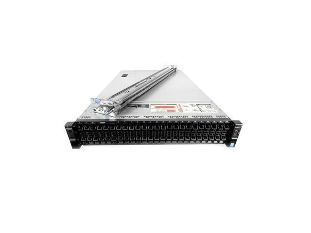 Refurbished: Dell PowerEdge R730xd 24 Bay Server, 2X Xeon E5-2697 V3 2 6GHz  14C, 384GB DDR4, H330 RAID, 4X 600GB 15K SAS 12Gbps 2 5 HDDs, iDRAC 8