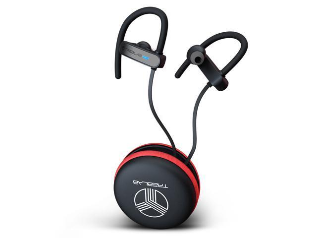 Treblab Xr800 Premium Sport Earphones Bluetooth Secure Fit Ipx7 Wireless Waterproof Earbuds For Running Workout Top True Hd Stereo Sound Noise Cancelling Microphone 2019 Sport Headphones Newegg Com