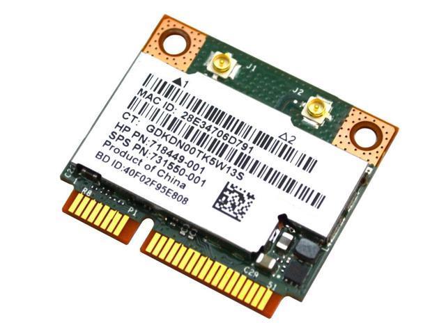 BT 4.0 731550-001 718449-001 Broadcom BCM943228HMB 802.11abgn 2x2 Wi-Fi