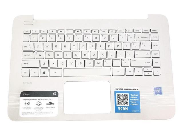 HP STREAM 11-R NOTEBOOK SERIES US ENGLISH WHITE LAPTOP KEYBOARD V135246FS1