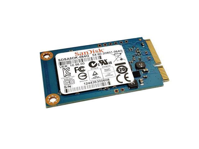 SanDisk 64GB mSATA SSD SATA 6Gb//s 54-90-20801-064G SDSA5DK-064G