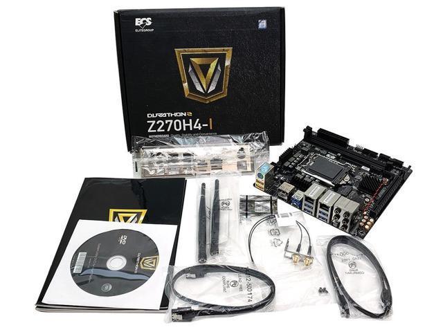 ECS Z270H4-I V1.0 INTEL Z270 CHIPSET LGA 1151 SOCKET DDR4 MINI ITX MOTHERBOARD