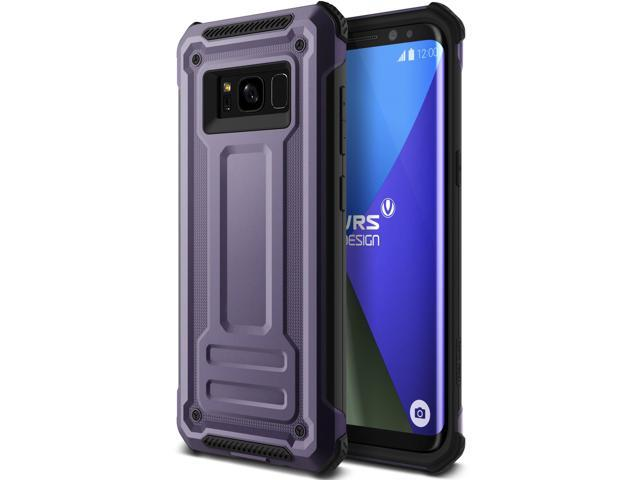 new concept 245cb dde07 VRS Design [Terra Guard] Armor Protection Case for Galaxy S8 - Orchid Gray  - Newegg.com