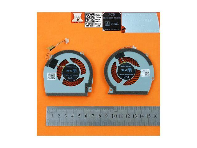 A pair New Laptop Cooling Fan for DELL Inspiron 15R 7566 7567 7000(CPU +  GPU Fan,Original) PN:0147DX DFS2000054H0T 0NWW0W DFS541105FC0T - Newegg com