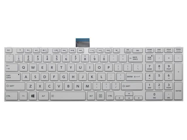 NEW FOR Toshiba Satellite S70-B S70D-B S70t-B Keyboard US Backlit Black Frame