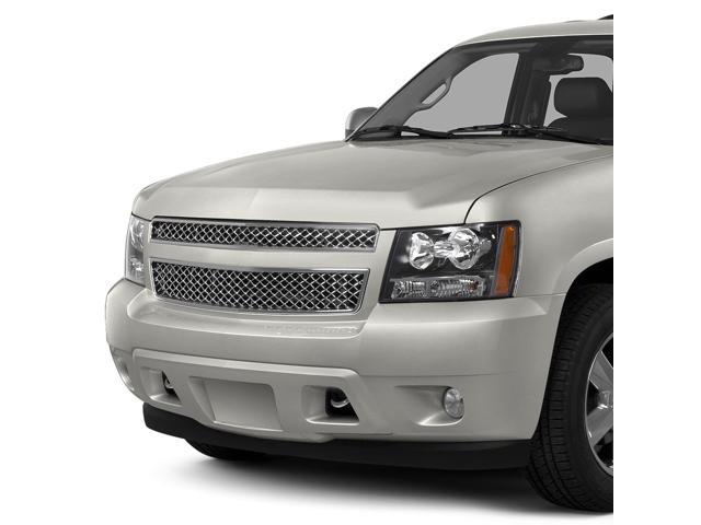 Replacement for Chevrolet Tahoe//Avalanche//Suburban ABS Plastic Diamond Mesh Front Upper/&Lower Bumper Grille Chrome
