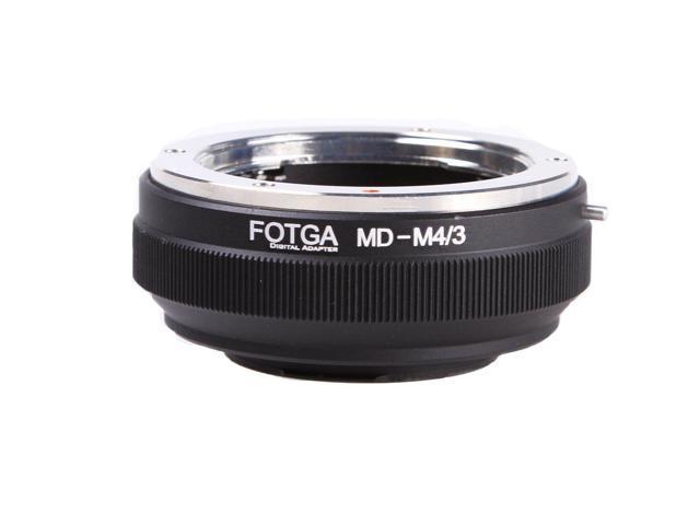 FOTGA Lens Mount Adapter for Minolta MD MC Mount Lens to Micro Four  Thirds(M4/3/MFT) Mount Camera Olympus PEN E-PL1,E-PL2,E-M,OM-D,E-M5,E-M10  Mark