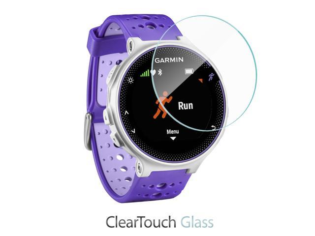 BoxWave ClearTouch Glass Garmin Forerunner 630 Screen Protector Premium HD Tempered Glass Screen Protector