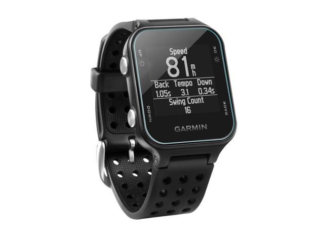 9H Tempered Glass Screen Protection for Garmin Forerunner 735XT Garmin Forerunner 735XT Screen Protector ClearTouch Glass BoxWave/®