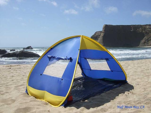 Pop Up Family Beach Sun Shelter Tent