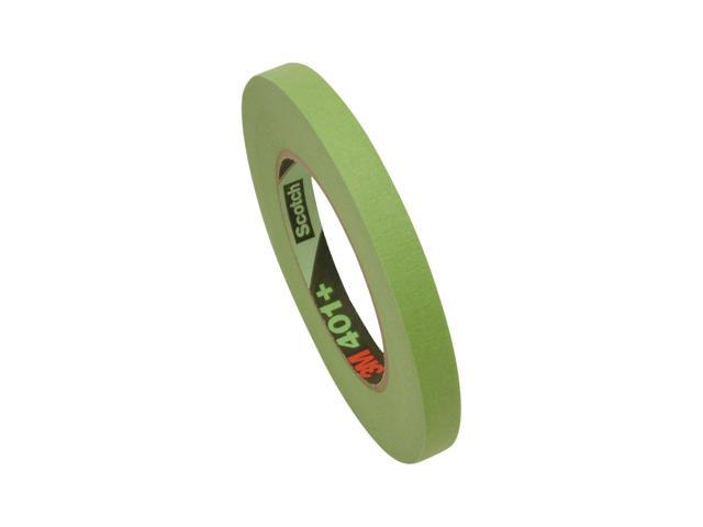 x 60 yds. 3M Scotch 401 Green High Performance Green Masking Tape 2 in