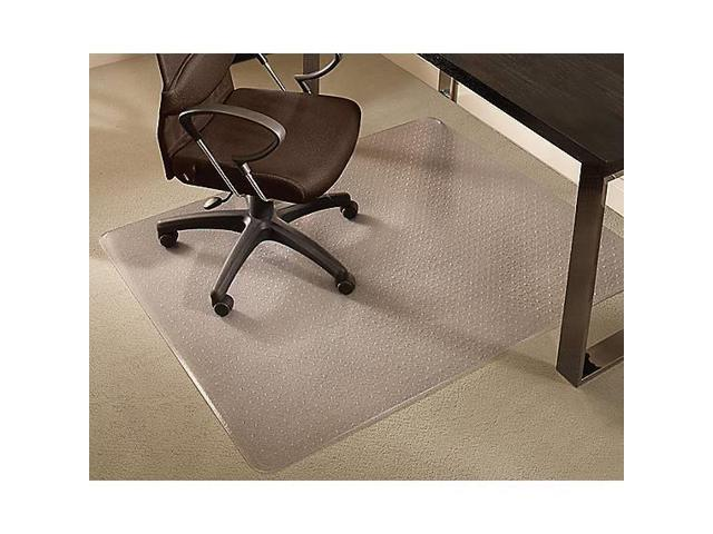 Staples 46 X 60 Medium Pile Carpet Chair Mat 599036