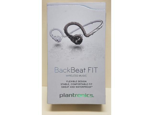 super popular 4eec1 70874 Plantronics 207700-60 BackBeat Fit Bluetooth Black Waterproof Sport  Headphones - Newegg.com