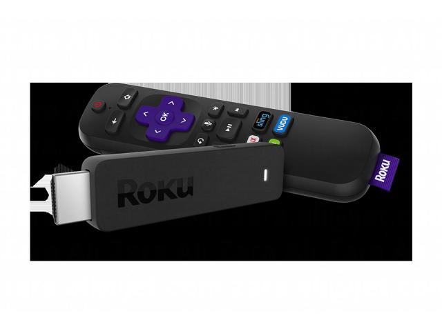 Roku 3800RW Streaming Stick Voice Remote with TV Power & Volume 1080p -  Newegg com