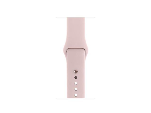 new style c0c5a af7cd Refurbished: Apple Watch Series 1 38mm Smartwatch (Rose Gold Aluminum Case,  Pink Sand Sport Band) - Newegg.com