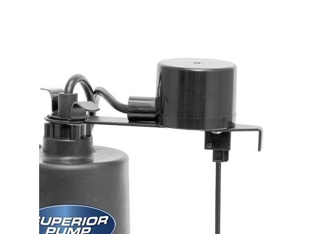 """Superior Pump 92372 1//3 HP 1.5/"""" Discharge Float Switch Stainless Steel Sump Pump"""