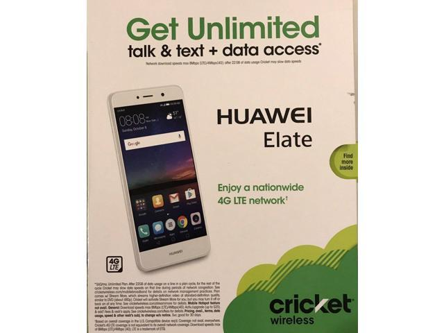 Refurbished: Cricket Wireless H1711z Huawei Elate 4G LTE with 16GB Memory  Prepaid Cell Phone White - Newegg com