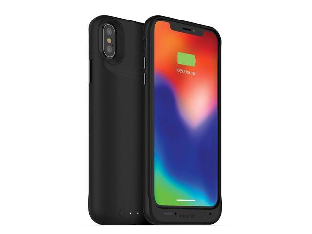 huge selection of 4c947 3269d Refurbished: Mophie 401002004 Juice Pack Qi Wireless Charging - Protective  Battery Case Made for iPhone X Black - Newegg.com