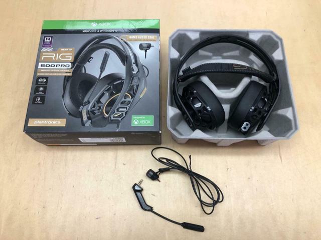 Refurbished: Plantronics 211221-60 RIG 500 PRO Dolby Atmos Gaming Headset,  Black - Newegg com
