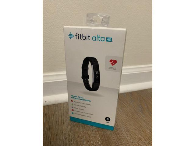 Fitbit Alta HR Activity Tracker Heart Rate Blue Gray Small FB408SGYS
