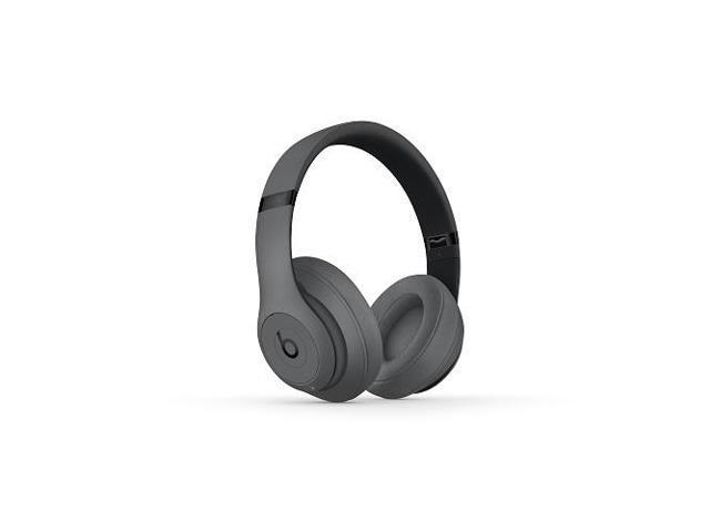 Refurbished Beats By Dr Dre Studio3 Wireless Gray Over Ear Headphones Mtqy2lla Newegg Com