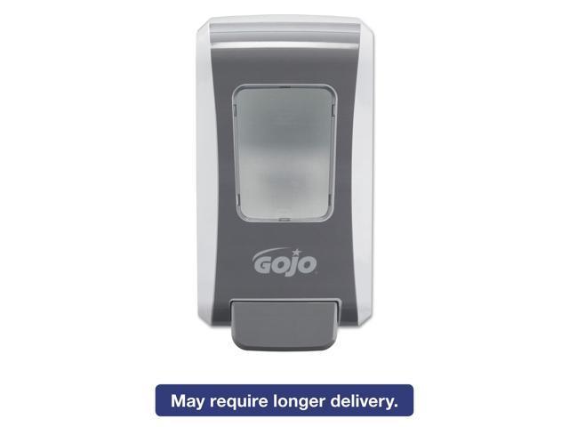 FMX-20 2000mL Foam Soap Dispenser, Push-Style, White/Gray GOJO 5270-06 -  Newegg com