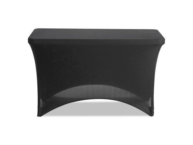 Amazing Stretch Fabric Table Cover Polyester Spandex 24 X 48 Black Newegg Com Spiritservingveterans Wood Chair Design Ideas Spiritservingveteransorg