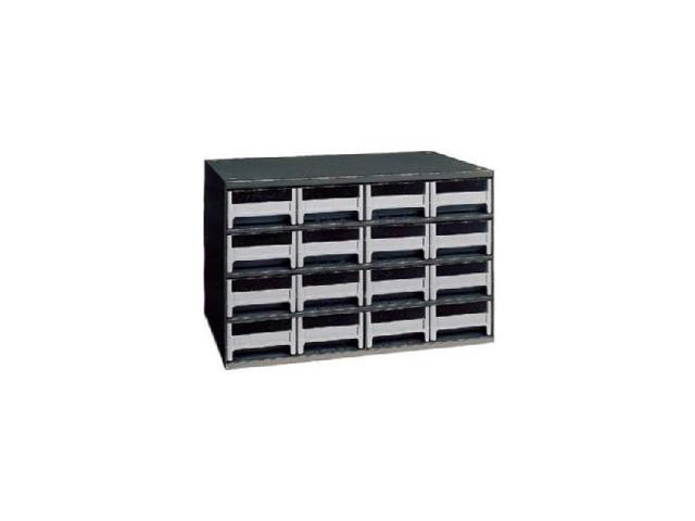 11 In D W AKRO-MILS 19416 Drawer Bin Cabinet 17 In
