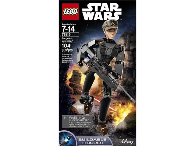LEGO Star Wars Sergeant Jyn Erso Kit 75119 Building Toys Kids Buildable Figures