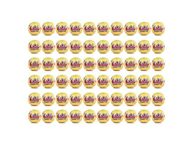 Lol Surprise Series 3 Charm Fizz Bath Bomb 60 Pack Mystery Mga