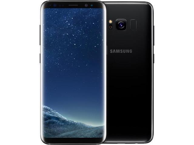 Samsung Galaxy S8 SM-G950 64GB Smartphone (Unlocked, Midnight Black)