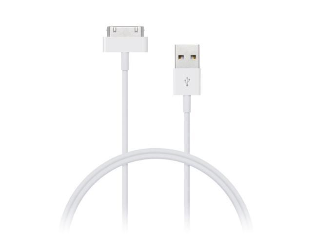 axGear 30 Pin USB Charging Cable Data Wire Sync For Apple iPhone 3GS 4 4S Old iPod iTouch iPad 10Ft 3M