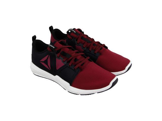 c990dbbee5b4 Reebok Reebok Hydrorush Tr Rustic Wine Black Chalk Mens Athletic Training  Shoes