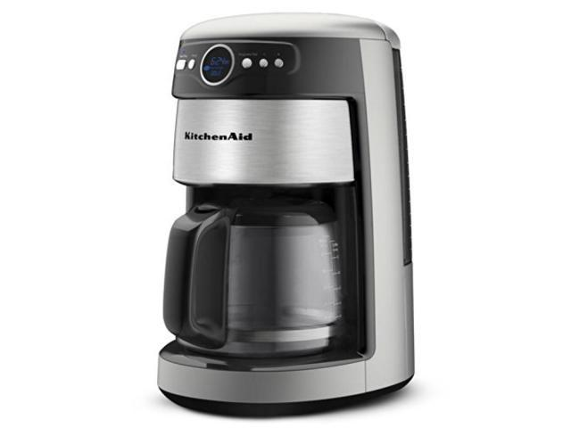 KitchenAid KCM1402ACS Coffee Maker, 14 Cup Architect - Newegg.com