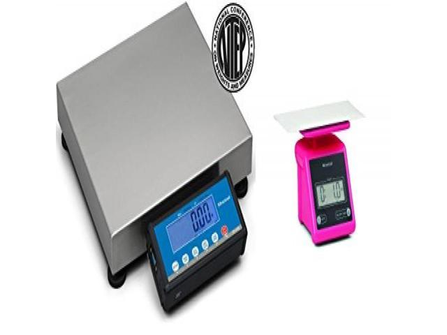 7b14803f6bbc Brecknell PS-USB Portable Shipping Scale NTEP Legal For Trade 30 kg/ 70 lb,  Free PS7 Pink included - Newegg.com