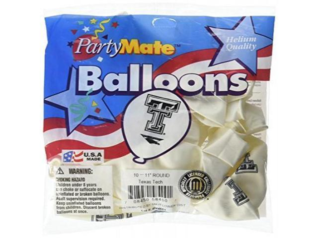 Pioneer Balloon Company 10 Count Smu Latex Balloon Multicolor 11