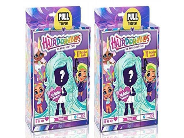 Styles May Hairdorables ‐ Collectible Surprise Dolls and Accessories Series 1
