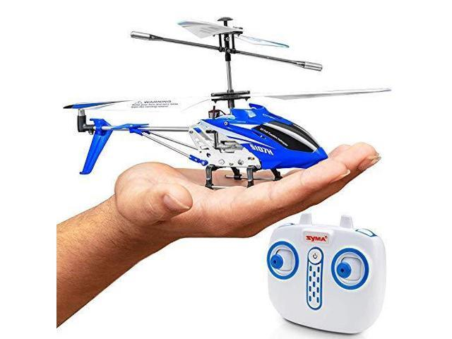 Syma Wind Hawk Remote Control Helicopter Indoor Rc Helicopter For Adults Flying Toys For Kids W Altitude Hold Blue Newegg Com