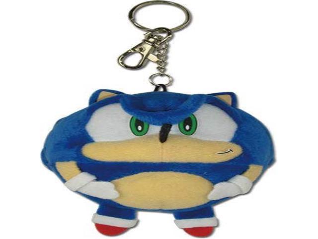 Great Eastern Entertainment Sonic The Hedgehog Ball Plush 01 Keychain Multicolor Newegg Com