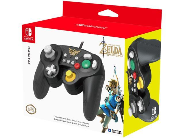 HORI Nintendo Switch Battle Pad (Zelda) GameCube Style Controller -  Nintendo Switch - Newegg com