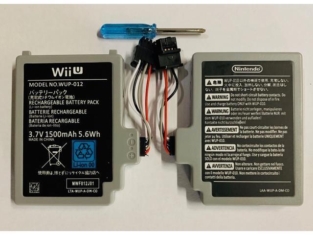 Original OEM New Replacement Battery Nintendo Wii U Gamepad Controller  WUP-012 - Newegg.com | Wii U Battery Wiring Diagram |  | Newegg.com